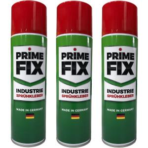 3 x 500ml Sprühkleber Prime Fix