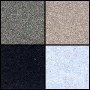 Muster Premium Stretchfilz Bootsteppich